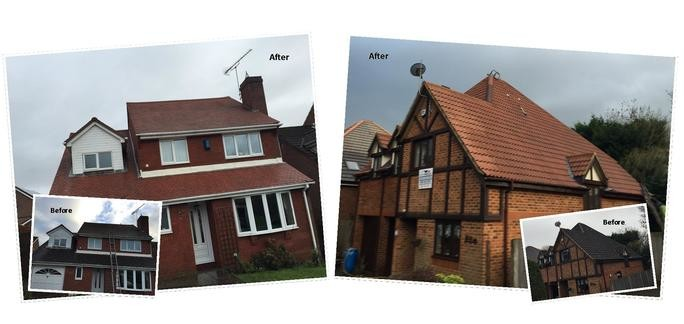 Roof Cleaning Londonderry and Roof Moss Removal Londonderry