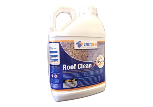 Roof Clean XTreme 60 cleans your roof without pressure